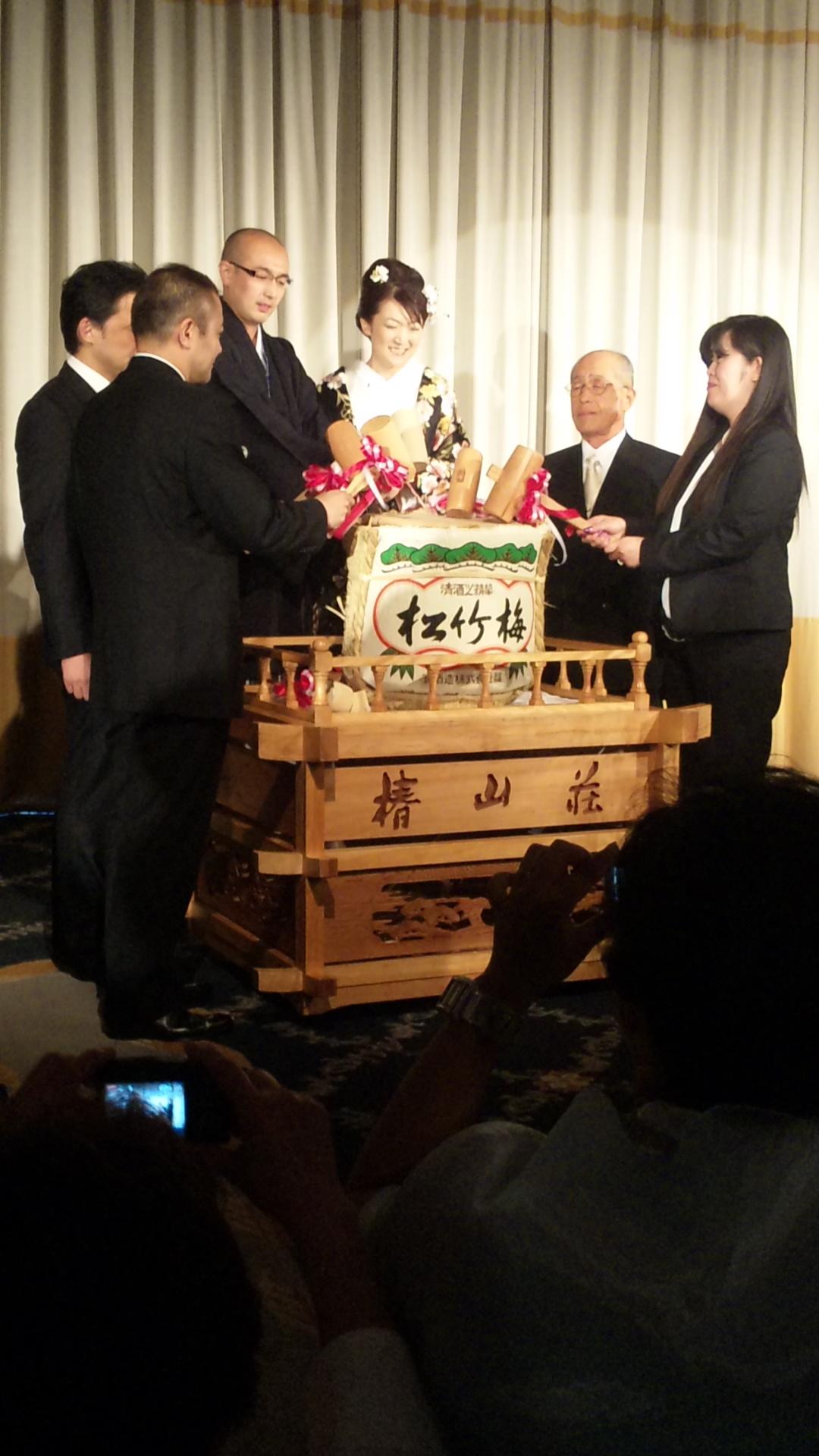 小菅兄さん結婚式!